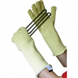 Kevlar Heat Resistant Gauntlets with Extended Cuff KK400-16