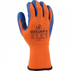 KOOLgrip II Hi-Vis Orange Thermal Grip Gloves