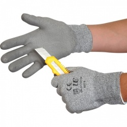Kutlass Cut Resistant Grey Gloves PU300