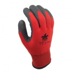 MCR Safety Winter Lined Water-Repellent Palm-Coated Work Gloves WL1048HP