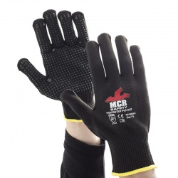 MCR Safety General Purpose GP1002PV PVC Dotted Work Gloves