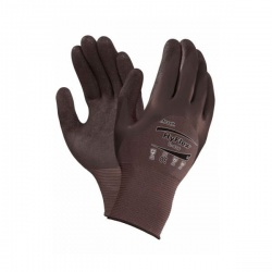 Ansell HyFlex 11-926 Lightweight 3/4 Coated Oil-Repellent Gloves