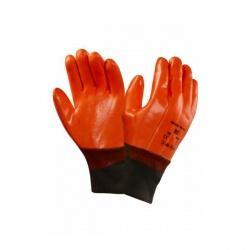 Ansell 23-491 Winter Hi-Viz Fluorescent Thermal-Liner Gloves