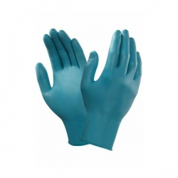Ansell TouchNTuff 92-500 Disposable Chemical-Resistant Nitrile Gloves