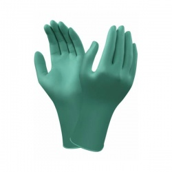 Ansell TouchNTuff 92-605 Chemical-Resistant Disposable Nitrile Gloves