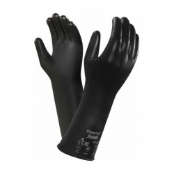 Ansell AlphaTec 38-628 Butyl Viton Chemical-Resistant Gauntlets