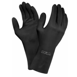Ansell Extra 87-950 Chemical-Resistant Latex Gauntlet Gloves