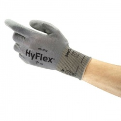 Ansell HyFlex 48-102 Palm-Coated Seamless Work Gloves