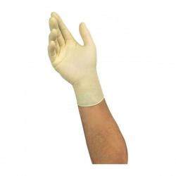 Ansell Microflex 63-864 Disposable Powder-Free Natural Latex Gloves