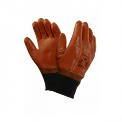 Ansell 23-191 Winter Monkey Grip Thermal-Lined Work Knitwrist Gloves