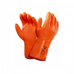 Ansell 23-700 Polar Grip PVC Insulated Winter Work Gloves