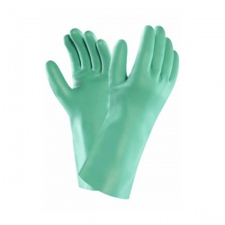 Ansell Solvex 37-655 Nitrile Chemical-Resistant Thin Gauntlets