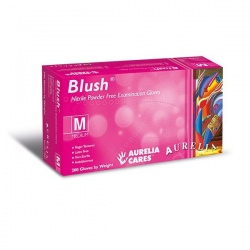 Aurelia 78885-9 Blush Medical Grade Nitrile Gloves