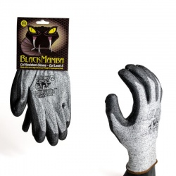 Black Mamba Cut Resistant Work Gloves PR-CTR