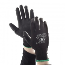 Black Mamba PU Coated Material Handling Gloves PR-PC