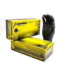 Black Mamba Torque Grip Tough Disposable Nitrile Gloves