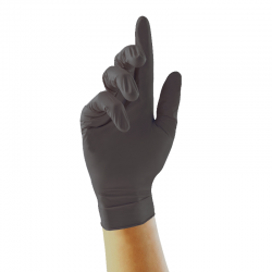 Unigloves Select Black Nitrile GT003 Tattoo Artists Gloves