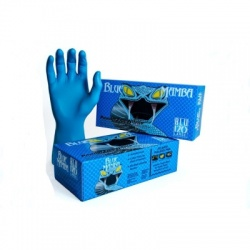 Blue Mamba Tough Disposable Nitrile Gloves BX-BLU