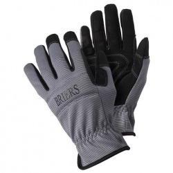 Briers Grey Flex and Protect Advanced Gardening Gloves