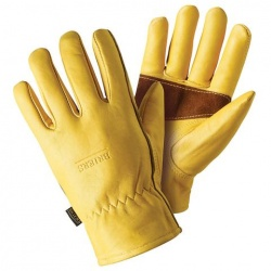 Briers Premium Golden Leather Gardening Gloves