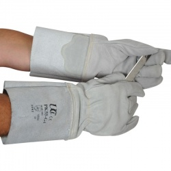 Chrome Leather Cut-Resistant Pressking PK55-G4 Gloves with Extended Cuffs