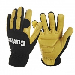 Cutter Deerskin Leather Shock Absorbing CW700 Gloves