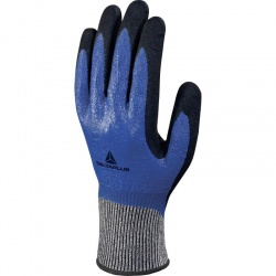 Delta Plus Double Nitrile Coated Oil Resistant Venicut VECUT54BL Gloves