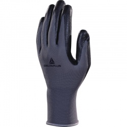 Delta Plus Knitted Polyester Nitrile Foam Coated VE722 Gloves
