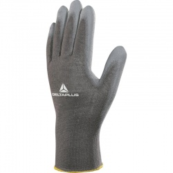 Delta Plus Polyester Knitted PU Coated VE702PG Gloves