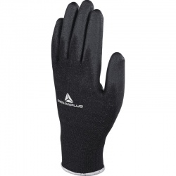 Delta Plus Polyester Knitted PU Coated VE702PN Gloves