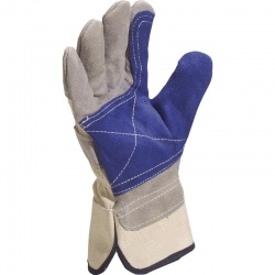 Delta Plus Quality Cowhide Leather Docker DS202RP Gloves