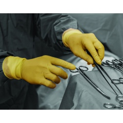 Dermagrip GS78 Sterile Latex Micro Surgical Gloves