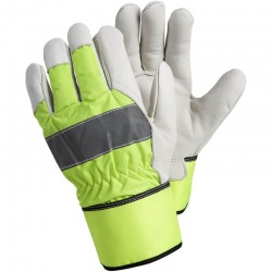 Ejendals Tegera 298 Hi-Vis Fleece Lined Rigger Gloves