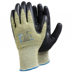 Ejendals Tegera 666 Palm Coated Cut Resistant Work Gloves