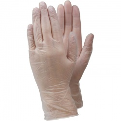Ejendals Tegera 825 Disposable PVC Gloves