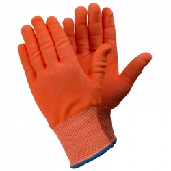 Ejendals Tegera 910 Level 5 Cut Resistant High Visibility Work Gloves