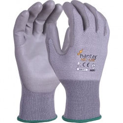 Hantex Lightweight PU Palm-Coated Grip Gloves HX3-Lite