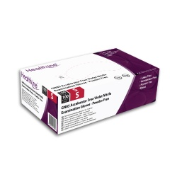 Healthline GN85 Violet Nitrile Examination Gloves (Pack of 100)