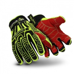 HexArmor 2021 Rig Lizard Hi-Vis Mechanics Gloves