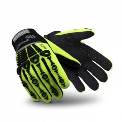 HexArmor Chrome Series 4026 Hi-Vis Cut Resistant Mechanics Gloves