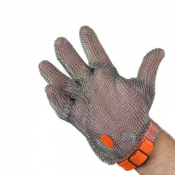 Honeywell Chainextra Butchers Glove with Plastic Strap 254200XR0302