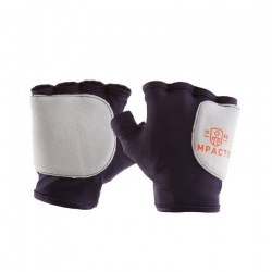 Impacto 503-10 Fingerless Suede Leather Anti-Vibration Gloves