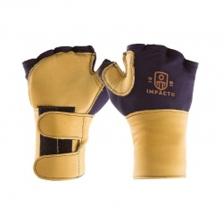 Impacto 704-20 Leather Anti-Vibration Gloves with Wrist Supports