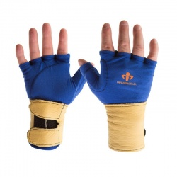 Impacto 714-20 Blue Anti-Vibration Glove Liners with Wrist Supports