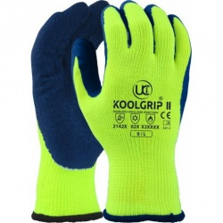 KOOLgrip II Hi-Vis Yellow Thermal Grip Gloves