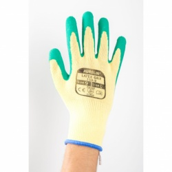 Aurelia Latex Green Wet Grip Gloves 110