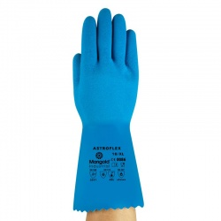 Ansell AlphaTec 87-029 Astroflex Chemical Resistant Rubber Gloves