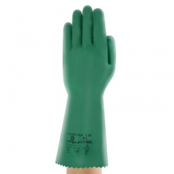 Marigold Industrial Fleximax L35 Chemical-Resistant Nitrile Gauntlets