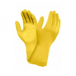 Marigold Industrial G12Y Yellow Chemical Resistant Latex Gloves