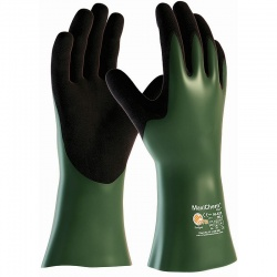 MaxiChem Cut Coated Chemical Resistant 56-633 Gauntlets